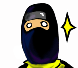 comic ninja sticker #755229