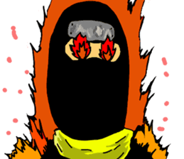 comic ninja sticker #755231
