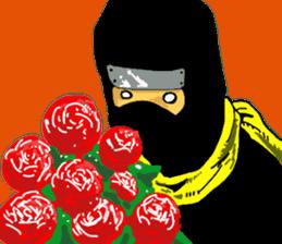comic ninja sticker #755232