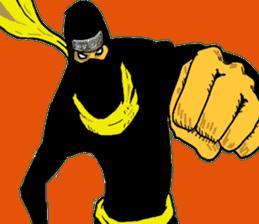 comic ninja sticker #755233