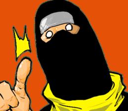 comic ninja sticker #755234