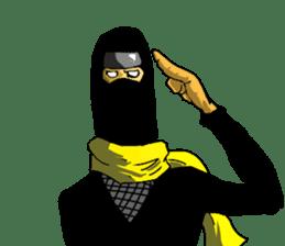 comic ninja sticker #755238