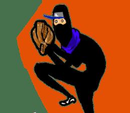 comic ninja sticker #755240