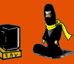 comic ninja sticker #755244