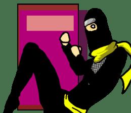 comic ninja sticker #755251
