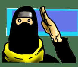 comic ninja sticker #755252
