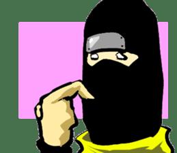 comic ninja sticker #755253