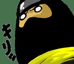 comic ninja sticker #755259