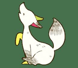 Three animals sticker #756647