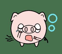 Cute pig Buhimaru sticker #756722