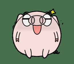 Cute pig Buhimaru sticker #756723