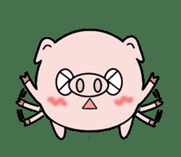 Cute pig Buhimaru sticker #756725