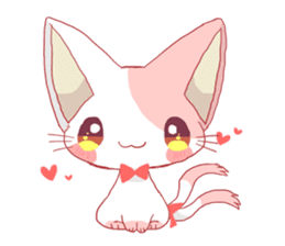 neko mata sticker #756863