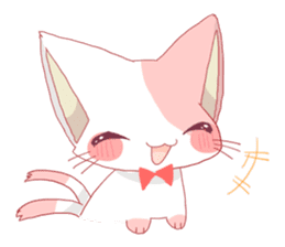 neko mata sticker #756879