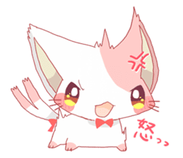 neko mata sticker #756892