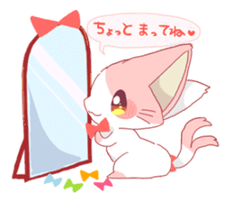 neko mata sticker #756895