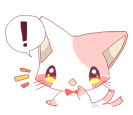 neko mata sticker #756899