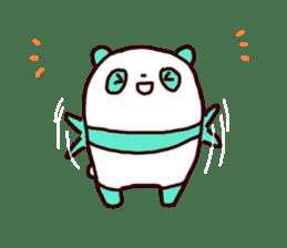 Mint Panda sticker #756904