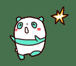 Mint Panda sticker #756908