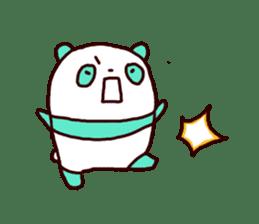 Mint Panda sticker #756912