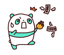 Mint Panda sticker #756917