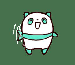 Mint Panda sticker #756918