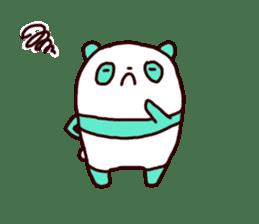 Mint Panda sticker #756921