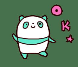 Mint Panda sticker #756924