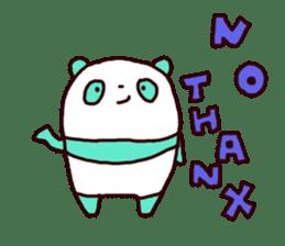 Mint Panda sticker #756925