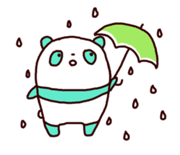 Mint Panda sticker #756927