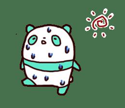 Mint Panda sticker #756928