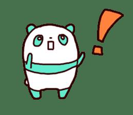 Mint Panda sticker #756930