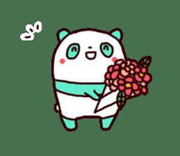 Mint Panda sticker #756934