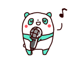 Mint Panda sticker #756935