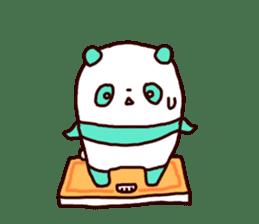 Mint Panda sticker #756936