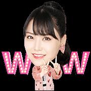 สติ๊กเกอร์ไลน์ NMB48 มิวสิคสติกเกอร์