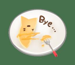 Cat's Pancake sticker #757670