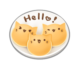 Cat's Pancake sticker #757672