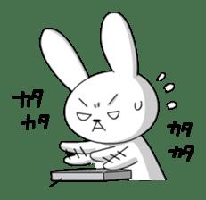 cute rabbits sticker #758072