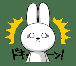 cute rabbits sticker #758075