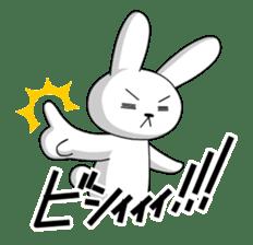 cute rabbits sticker #758080