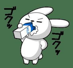 cute rabbits sticker #758090