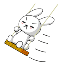 cute rabbits sticker #758097