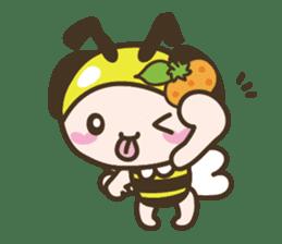 BuzzBuzzBuzz ! BEE & FRUiT sticker #758707