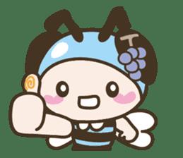 BuzzBuzzBuzz ! BEE & FRUiT sticker #758710