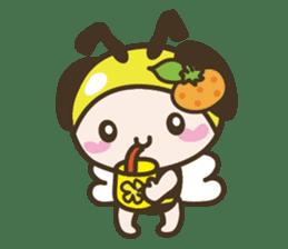BuzzBuzzBuzz ! BEE & FRUiT sticker #758731