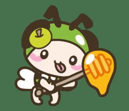 BuzzBuzzBuzz ! BEE & FRUiT sticker #758738