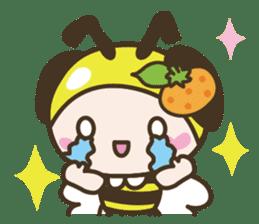 BuzzBuzzBuzz ! BEE & FRUiT sticker #758741