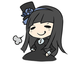 Gosick Lolita Girls sticker #759110
