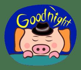 Hard-boiled pig sticker #759212
